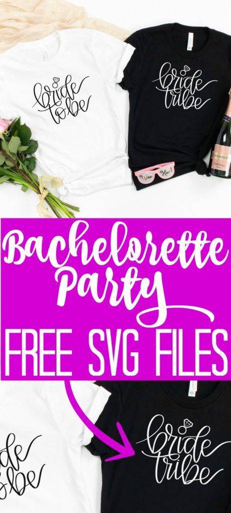 Get this free bride tribe SVG file along with a free bride to be SVG for any bridal shower or wedding! You will love all 16 free wedding SVG files in this post! #weddingsvg #svg #svgfile #freesvg #freecutfile #cutfile #wedding #bridalshower #weddingshower #bacheloretteparty #cricut #cricutcreated