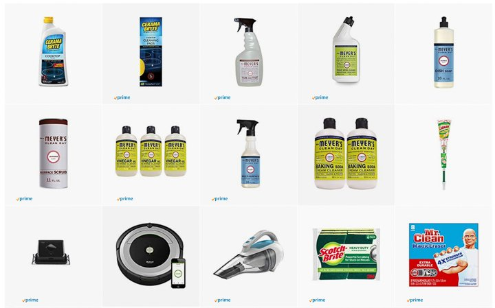 My favorite cleaning supplies and products from Amazon!
