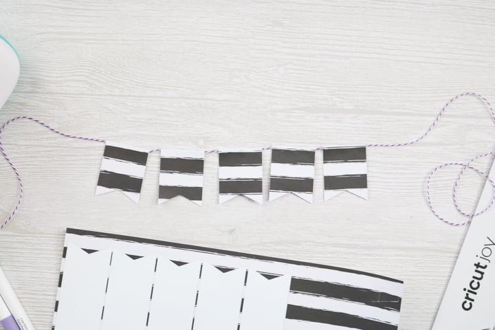 paper flag banner