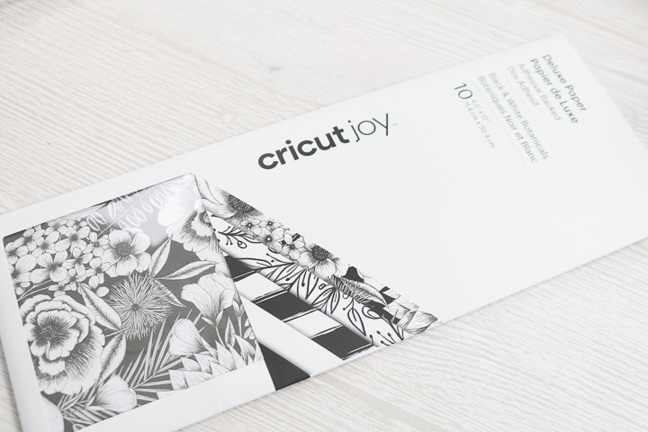 cricut adhesive backed paper