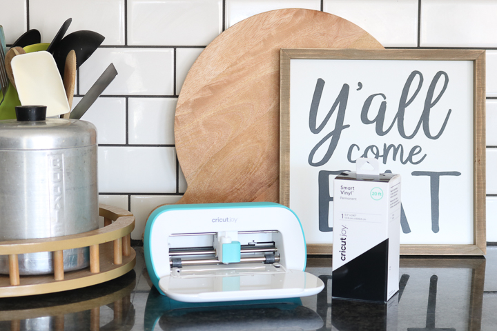 cricut joy in kitchen