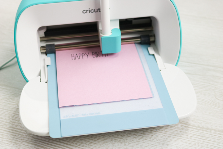 cricut joy writing with pen