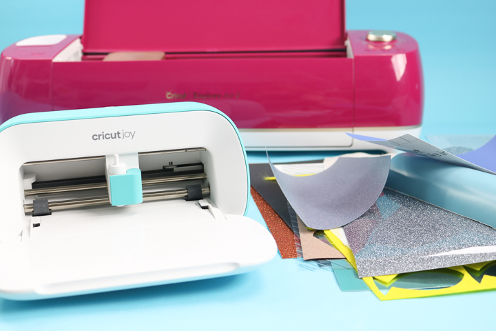 materials that both the cricut joy and cricut explore can cut