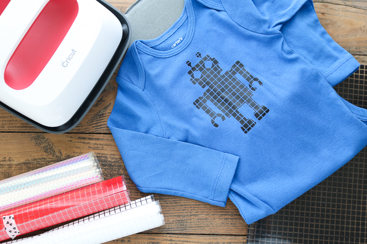 how to use cricut mosaic iron-on
