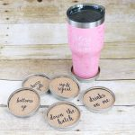 How to Make Mason Jar Lid Coasters