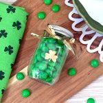 Clover SVG and DIY Mini Treat Jars