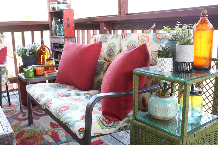 spring porch refresh