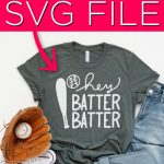 15 Baseball SVG Files to Download for Free
