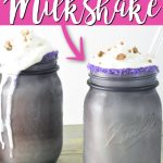 Make this Cadbury milkshake recipe this Easter! Everyone will love the taste of mini Cadbury eggs with ice cream in a delectable drink that can be served in a mason jar! #cadbury #easter #spring #milkshake #recipe #dessert