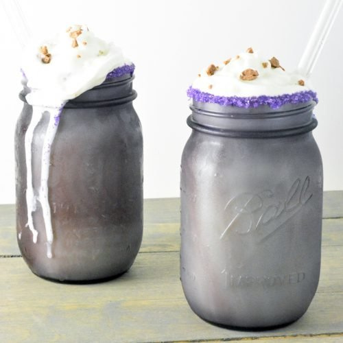 chocolate egg milkshake