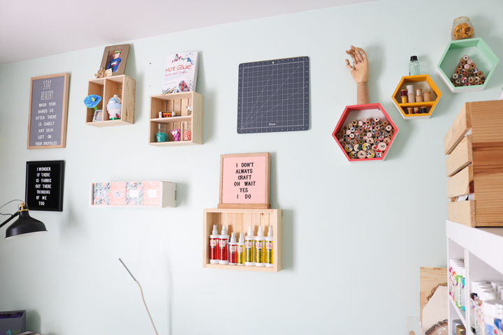 craft room decor