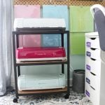 Cricut Craft Room: Ideas for Organizing