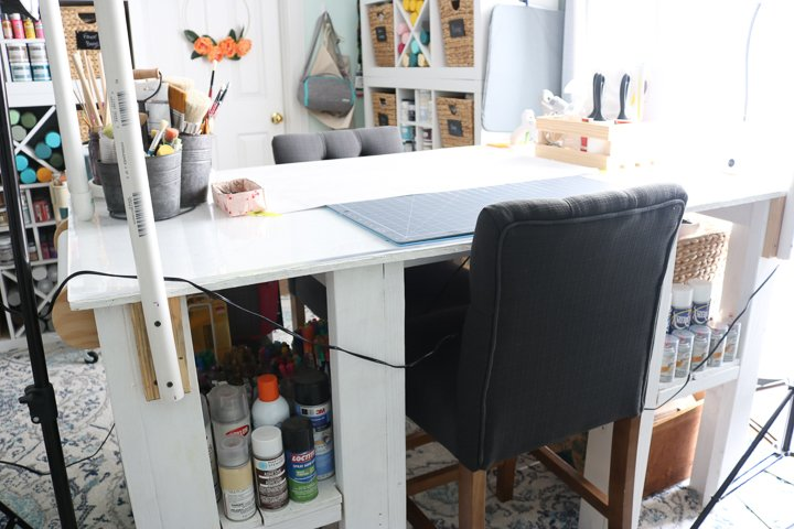 crafting work table