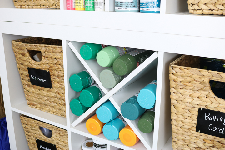 spray paint shelf
