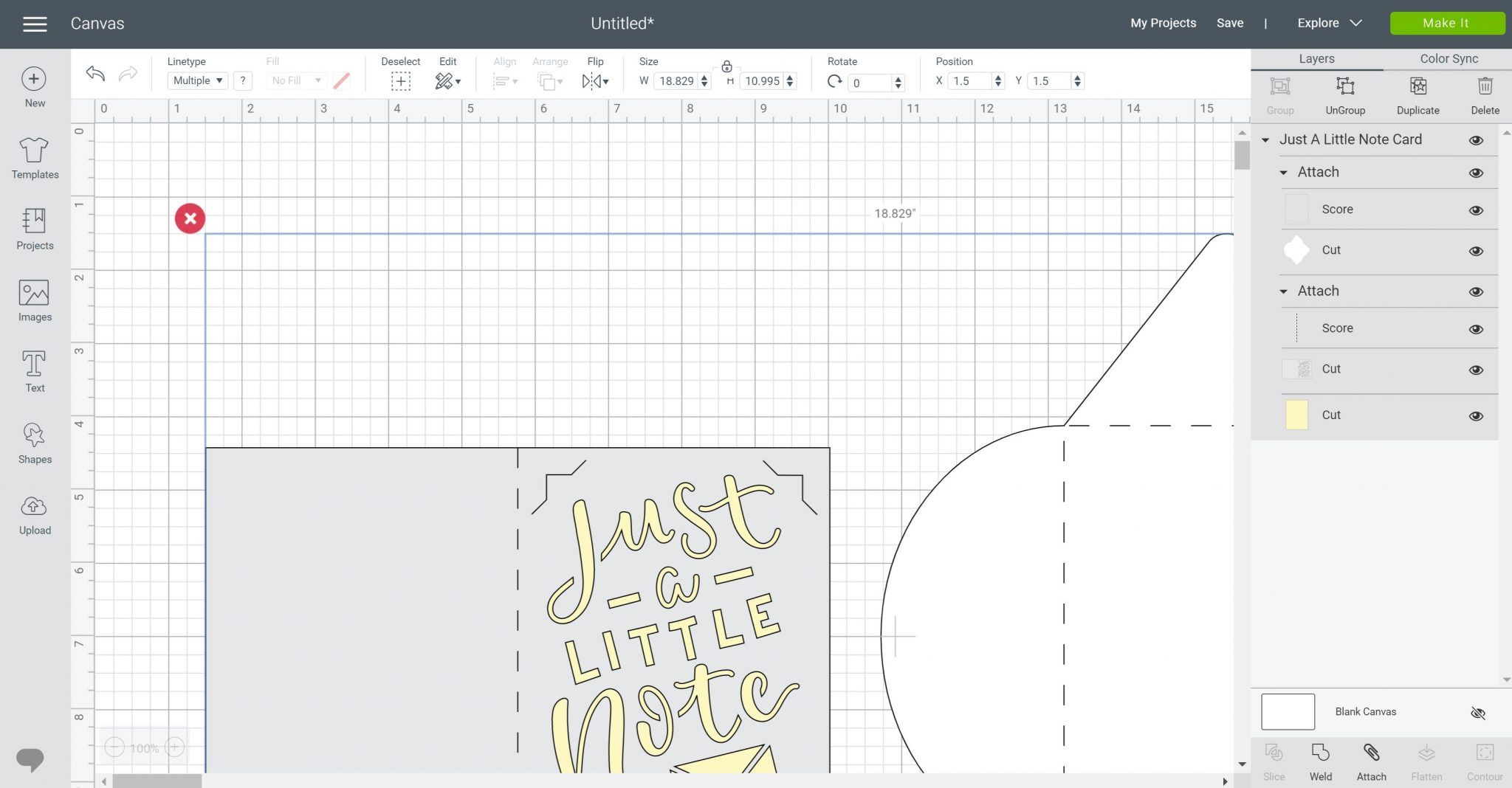 card designs in cricut design space