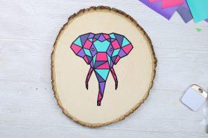 cricut ideas using geometric art