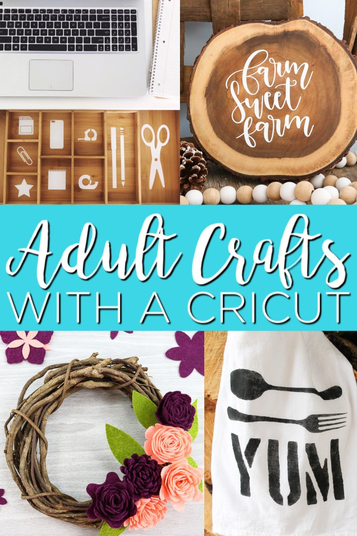 cricut project ideas for adults