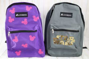 backpacks for blue ribbon project
