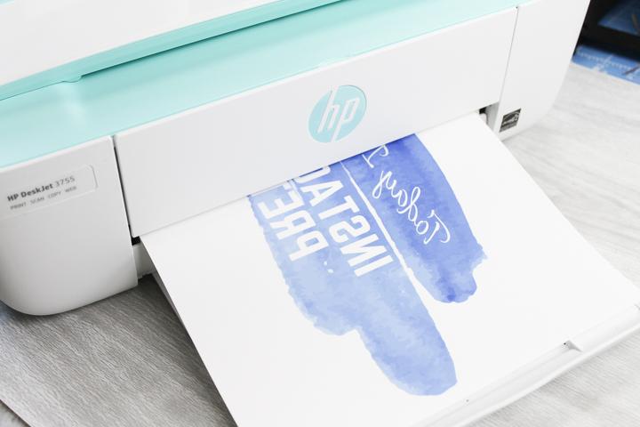 printing on tshirt transfer