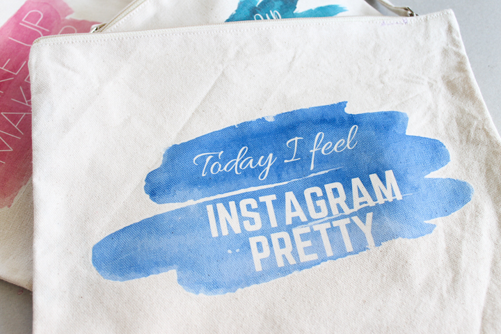 instagram pretty cosmetic bag
