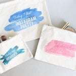 DIY Cosmetic Bags with T-Shirt Transfers