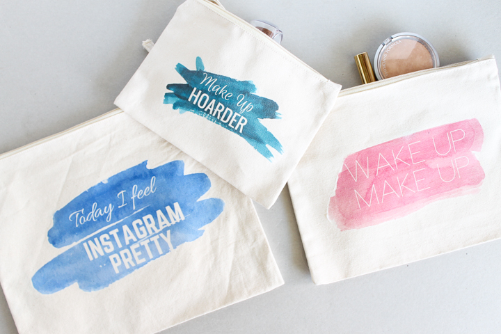 decorating cosmetic bags