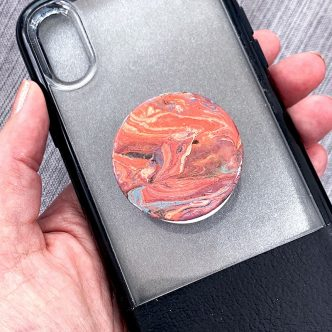 painted popsocket