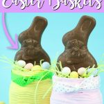 These Easter jars will be everyone's favorite this spring! Make a few of these adorable jars for the Easter bunny to leave on Easter morning! #easter #masonjars #easterbunny #easterbasket