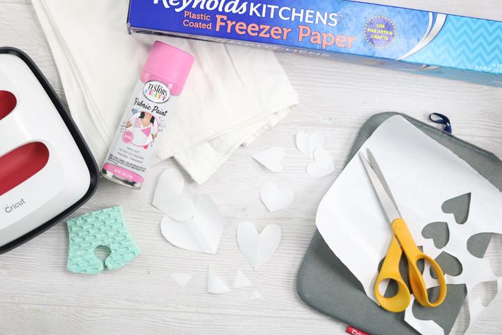 cutting freezer paper