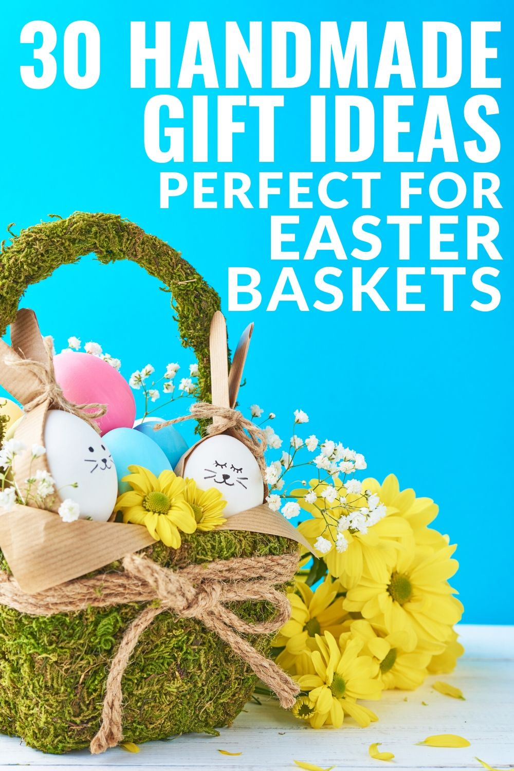 You are going to love these handmade Easter ideas and adding them to your kids' Easter baskets! Make a few of these then drop them in the basket for children of all ages! #easter #easterbasket #handmade #giftideas