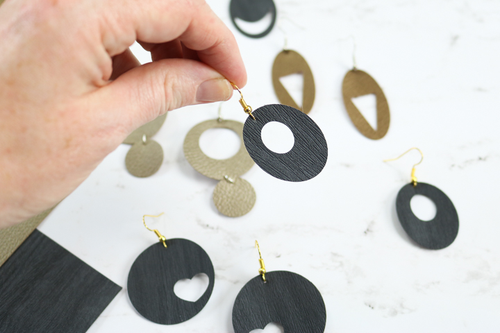 earring designs to make with a cricut
