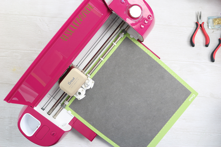 cricut machine cutting faux leather