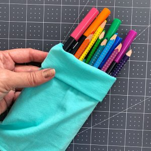 no sew pencil pouch