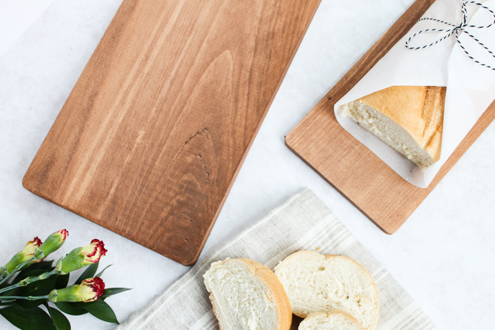 using bread boards in a kitchen