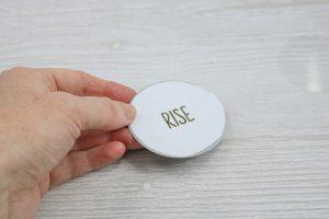 Assembling an inspirational pin
