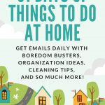 31 days of things to do at home