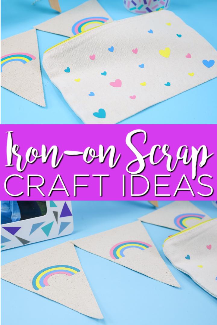 iron on scrap craft ideas