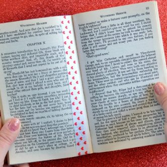 no sew ribbon bookmark
