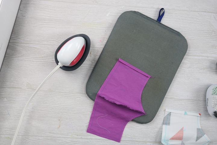 ironing seam allowance