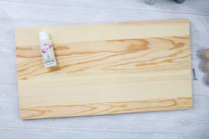 painting board white