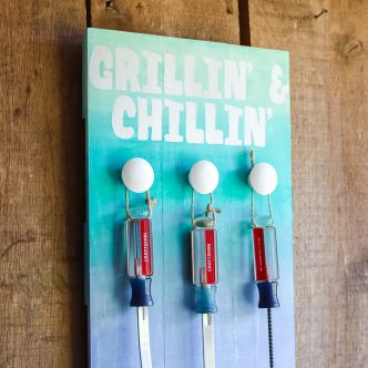 grilling and chilling bbq tool organizer