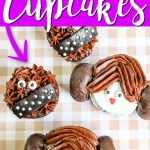 Learn how to make Star Wars Cupcakes easily! Celebrate May the 4th in style with your kids and these cute cupcakes! #starwars #maythe4th #may4th #princessleia #chewbacca #chewy #dessert