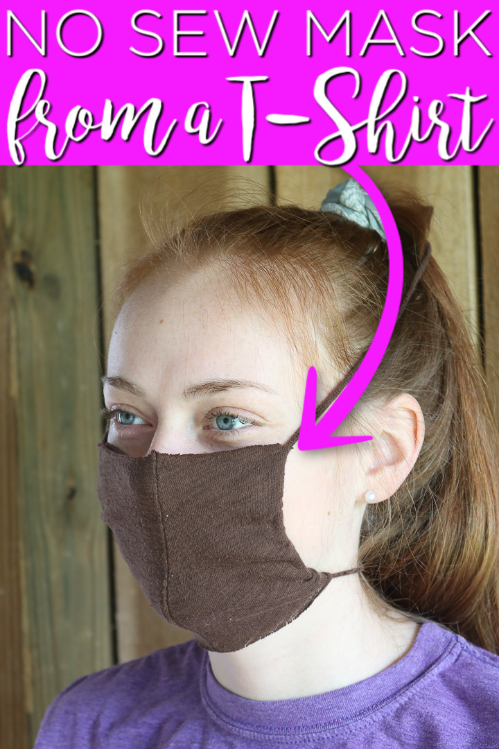 how to make a face mask from a tshirt