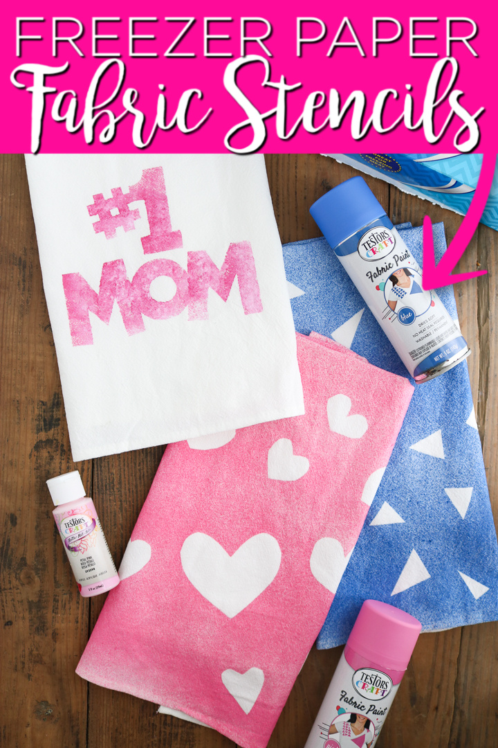 freezer paper stenciling