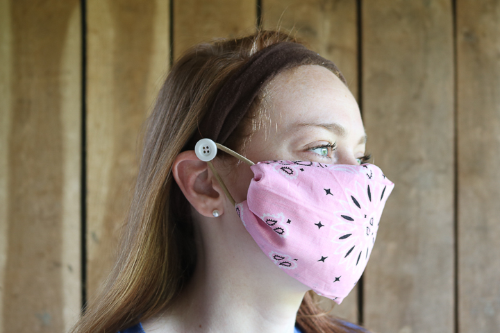 ear saver headband for face masks
