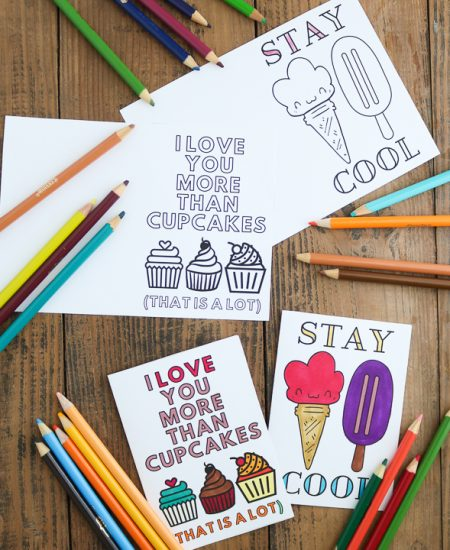printable cards to color