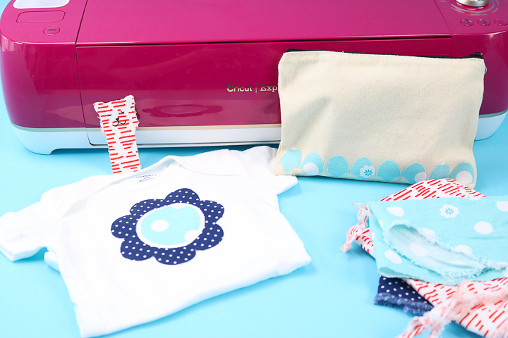 crafts with fabric scraps with a cricut