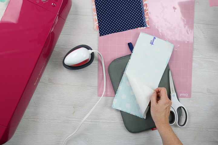 removing backing from interfacing