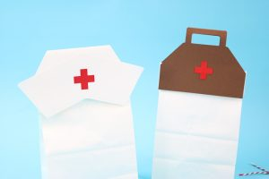 gift wrap for healthcare worker gifts