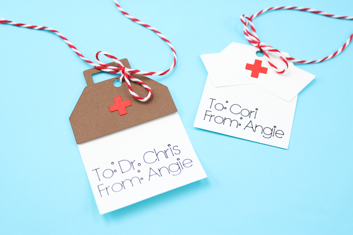 healthcare gift tags